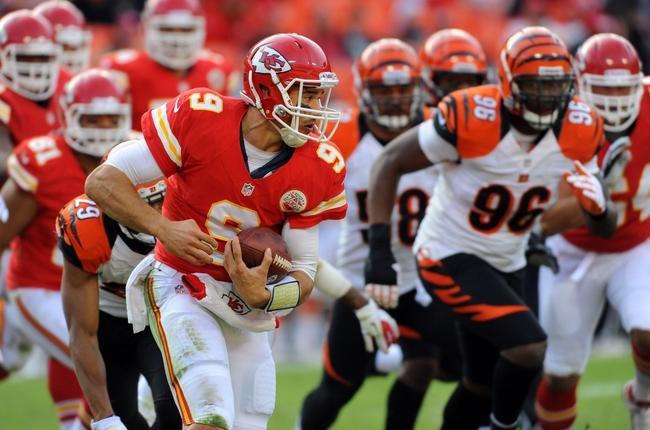 Cincinnati Bengals at Kansas City Chiefs NFL Pick, Odds, Prediction - 8/7/14