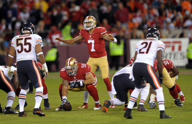 Fantasy Football 2014: Bears at 49ers 9/14/14 Week 2 Preview