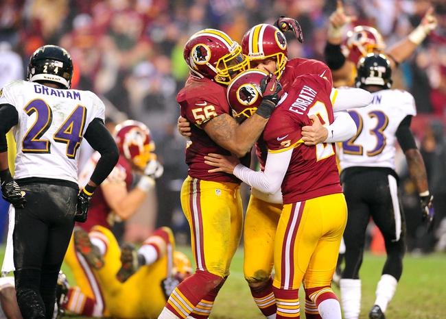 Washington Redskins at Baltimore Ravens - 8/23/14 Pick and Odds
