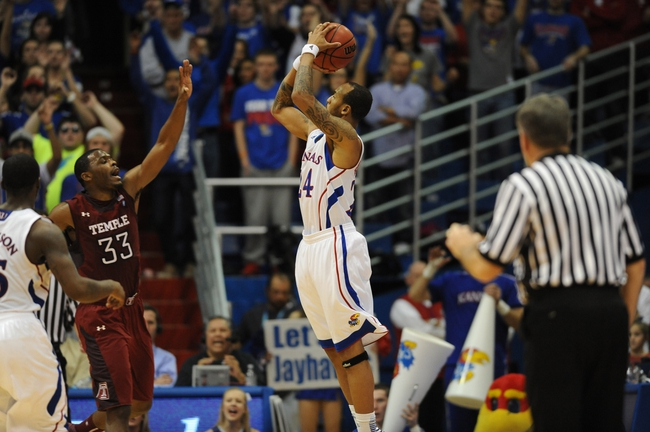 Temple vs. Kansas - 12/22/14 College Basketball Pick, Odds, and Prediction