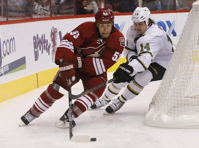 Arizona Coyotes vs. Dallas Stars - 11/11/14 NHL Pick, Odds, and Prediction