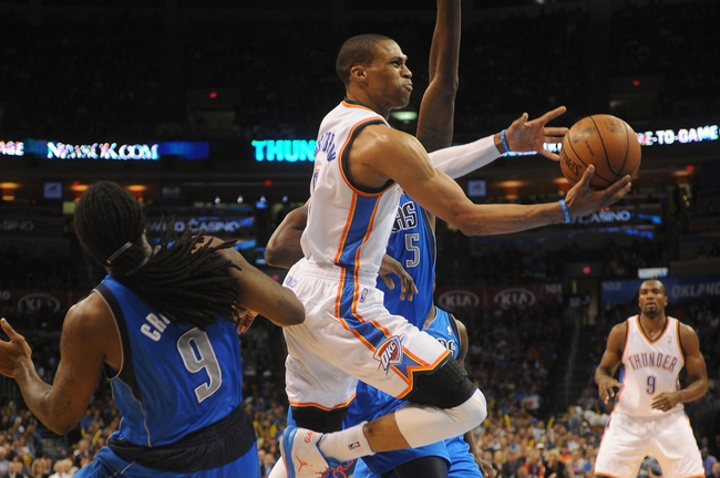 Oklahoma City Thunder vs. Dallas Mavericks - 10/10/14 NBA Preseason Pick, Odds, Prediction