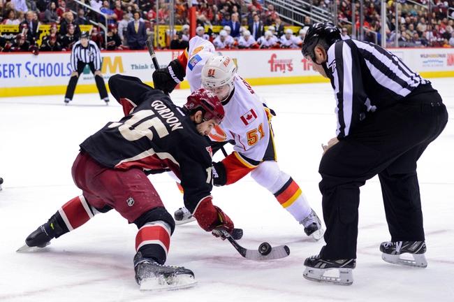 Calgary Flames vs. Arizona Coyotes - 11/13/14 NHL Pick, Odds, and Prediction