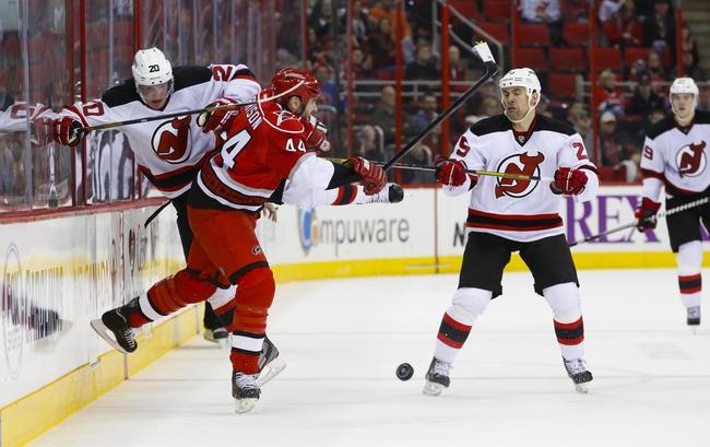 Carolina Hurricanes vs. New Jersey Devils - 4/5/14