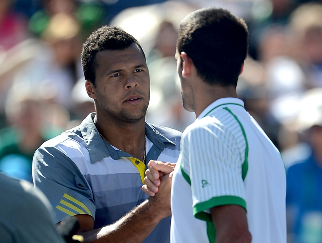 Novak Djokovic vs. Jo-Wilfried Tsonga 2014 Wimbledon Pick, Odds, Prediction
