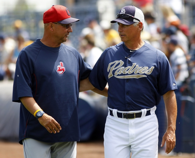 Cleveland Indians vs. San Diego Padres - 4/7/14