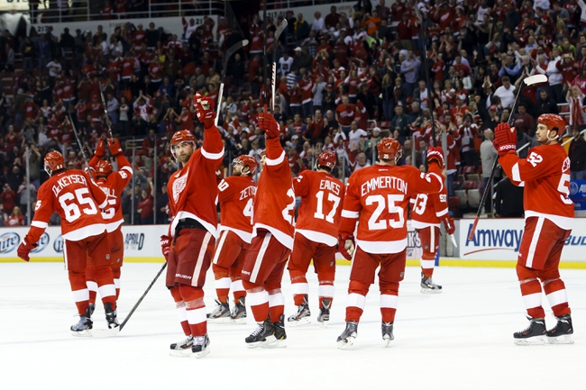 Detroit Red Wings vs. Nashville Predators - 1/17/15 NHL Pick, Odds, and Prediction