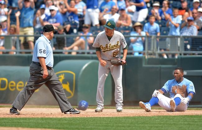 Oakland Athletics vs. Kansas City Royals MLB Pick, Odds, Prediction - 8/1/14