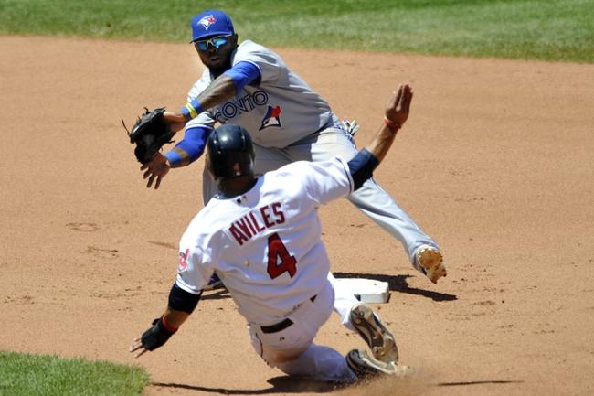 Cleveland Indians vs. Toronto Blue Jays - 4/18/14