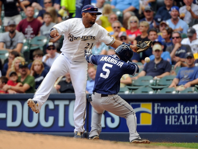 Milwaukee Brewers vs. San Diego Padres MLB Pick, Odds, Prediction 4/22/14