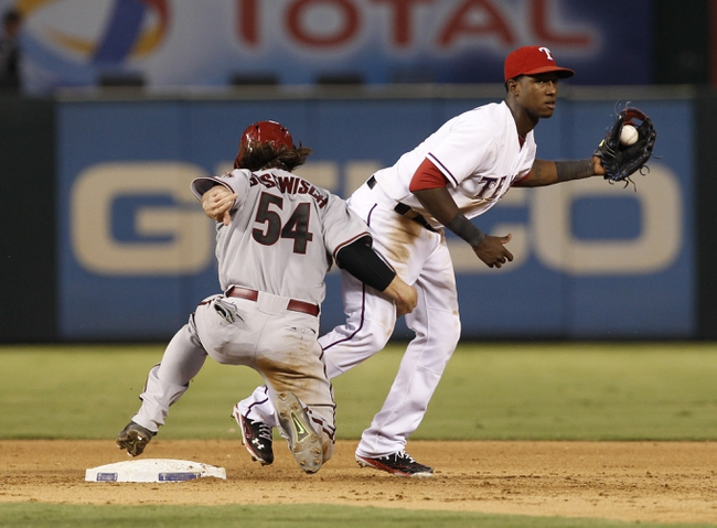 Rangers at Diamondbacks - 4/21/15 MLB Pick, Odds, and Prediction