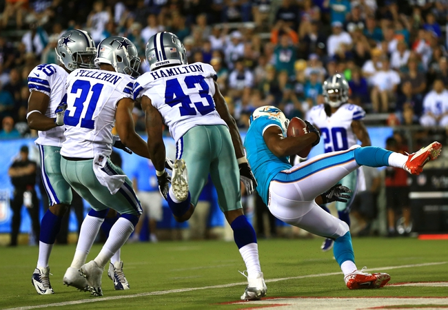 Miami Dolphins vs. Dallas Cowboys 8/23/14 Free NFL Pick