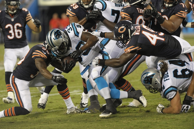 Panthers vs. Bears 10/5/14 Free NFL Pick, Odds, and Prediction