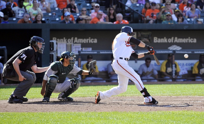 Baltimore Orioles vs. Oakland Athletics MLB Pick, Odds, Prediction - 6/6/14