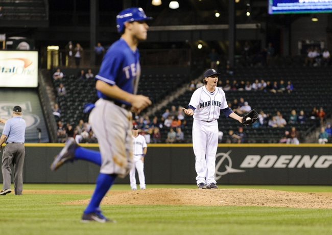Texas Rangers vs. Seattle Mariners - 4/14/14