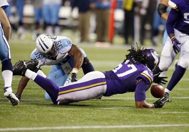 Tennessee Titans vs. Minnesota Vikings Pick-Odds-Prediction - 8/28/14