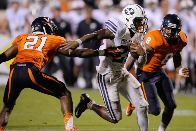 Virginia Cavaliers vs. BYU Cougars Pick-Odds-Prediction - 9/20/14