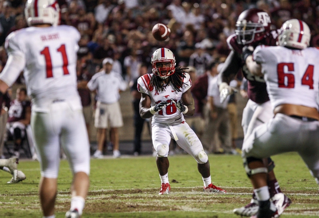 Southern Methodist Mustangs vs. Texas A&M Aggies Pick-Odds-Prediction - 9/20/14