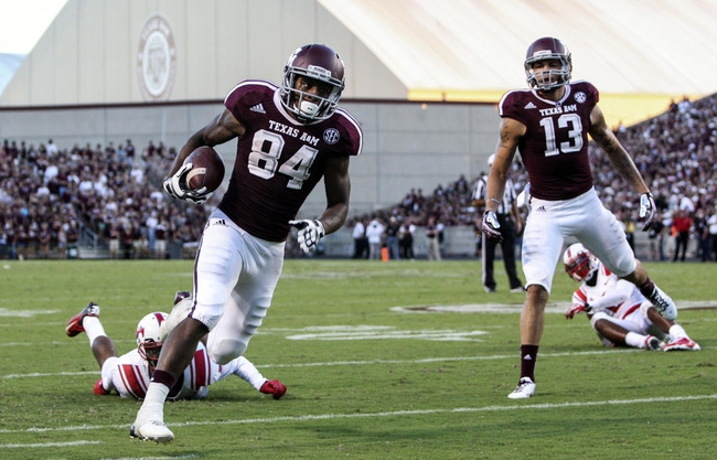 Texas A&M vs. UL-Monroe - 11/1/14 College Football Pick, Odds, and Prediction