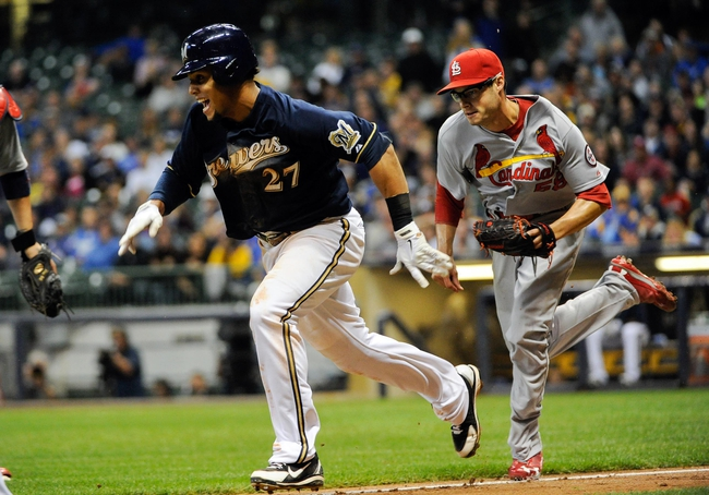 Milwaukee Brewers vs. St. Louis Cardinals - 4/14/14