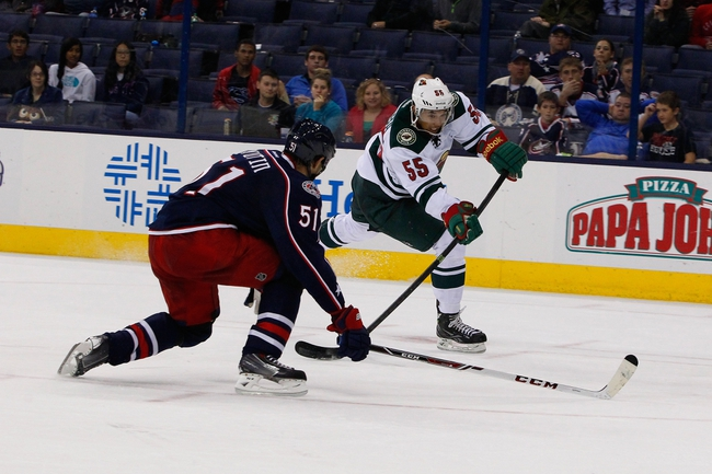Blue Jackets vs. Wild - 12/31/14 NHL Pick, Odds, and Prediction