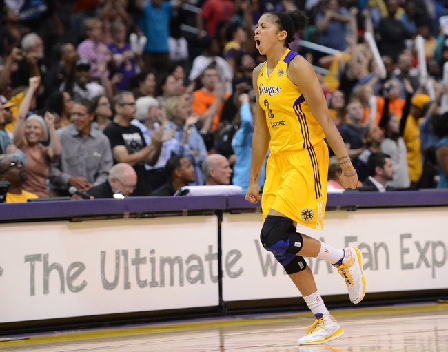 Indiana Fever vs. Los Angeles Sparks - 8/18/15 WNBA Pick, Odds, and Prediction