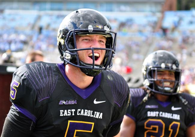 East Carolina Pirates vs. North Carolina Tar Heels Pick-Odds-Predictions 9/20/14