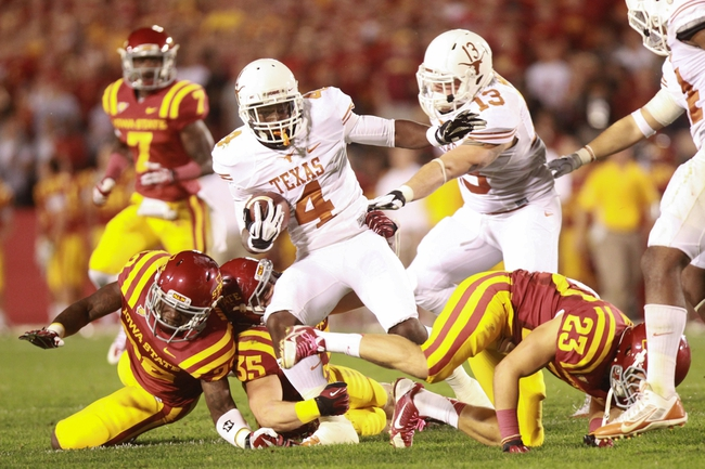 Texas Longhorns vs. Iowa State Cyclones - 10/18/14 CFB Pick, Odds, Prediction
