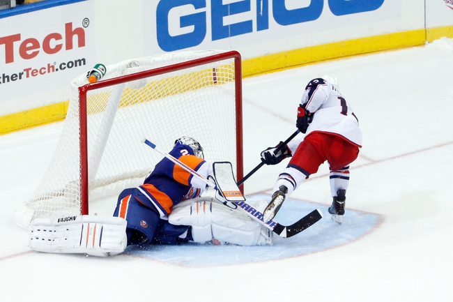Columbus Blue Jackets vs. New York Islanders Pick-Odds-Prediction - 4/6/14