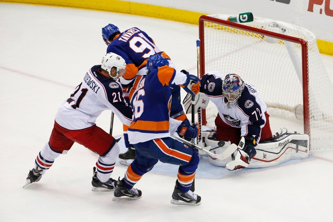 Columbus Blue Jackets vs. New York Islanders - 1/10/15 NHL Pick, Odds, and Prediction