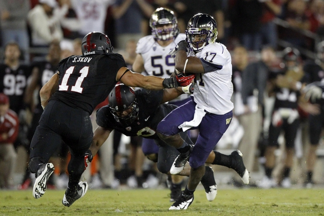 Stanford Cardinal at Washington Huskies CFB Pick, Odds, Prediction - 9/27/14