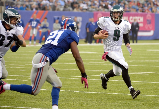 Fantasy Football 2014: Giants at Eagles 10/12/14 Week 6 Preview