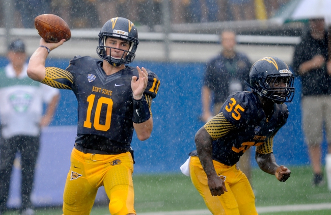 Kent State Golden Flashes vs. Akron Zips - 11/28/14 College Football Pick, Odds, and Prediction