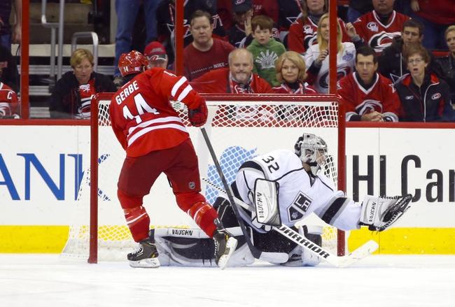 Carolina Hurricanes vs. Los Angeles Kings - 11/2/14 NHL Pick, Odds, and Prediction
