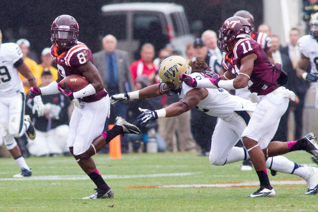 Virginia Tech at Pittsburgh - 10/16/14 CFB Pick, Odds, Prediction