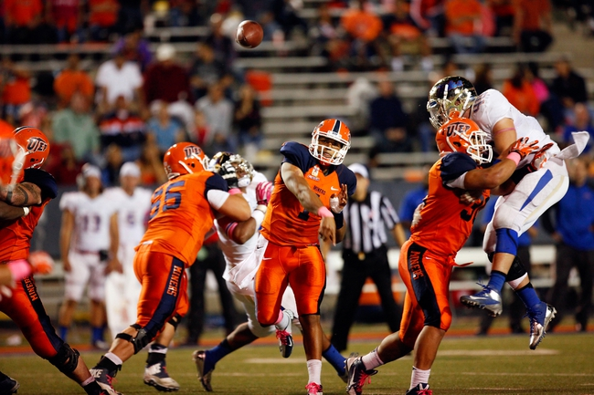Texas El Paso Miners vs. Southern Miss Golden Eagles - 11/1/14 College Football Pick, Odds, and Prediction