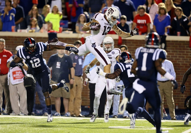 Texas A&M vs. Ole Miss 10/11/14 Free College Football Pick and Odds