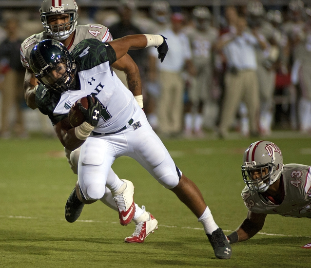 Hawaii Warriors vs. UNLV Rebels - 11/22/14 College Football Pick, Odds, and Prediction