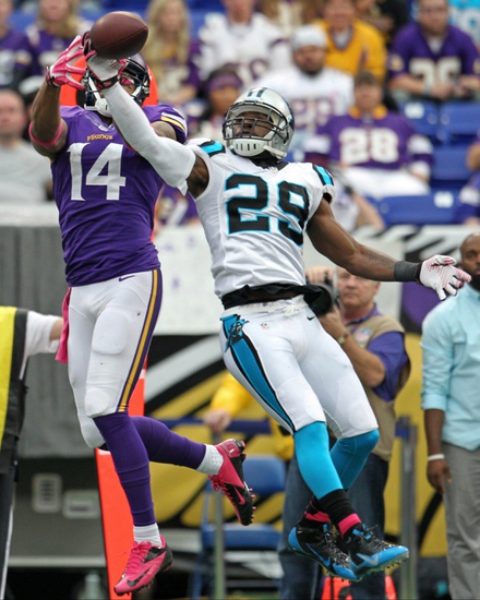 Vikings vs. Panthers - 11/30/14 NFL Pick, Odds, and Prediction