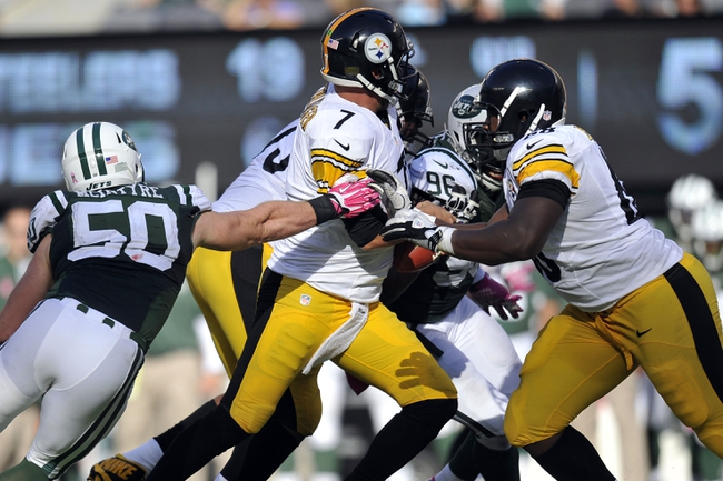 New York Jets vs. Pittsburgh Steelers - 11/9/14 NFL Pick, Odds, and Prediction