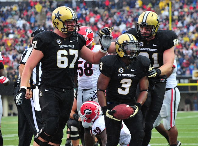 Vanderbilt Commodores vs. Temple Owls 8/28/14 Free College Football Pick and Odds