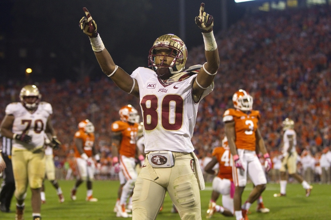 Clemson Tigers at Florida State Seminoles CFB Pick, Odds, Prediction - 9/20/14