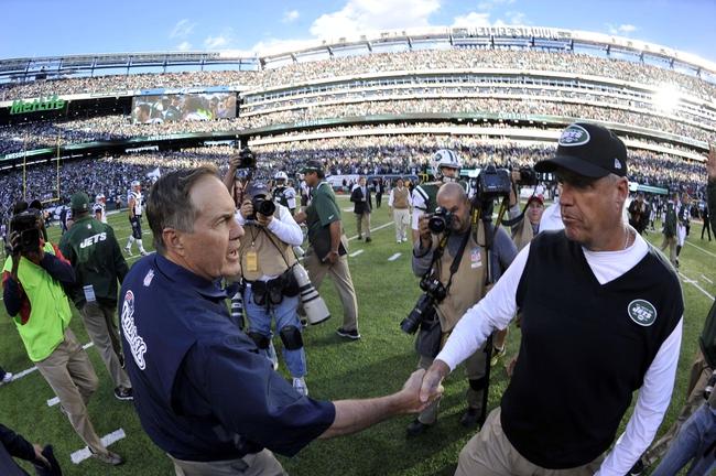 New England Patriots vs. New York Jets - 10/16/14 NFL Pick, Odds, Prediction