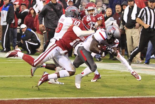 Texas Tech vs. Oklahoma - 11/15/14 College Football Pick, Odds, and Prediction