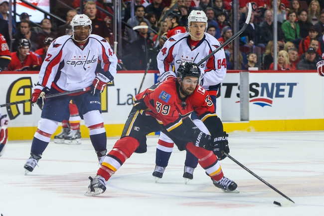 Calgary Flames vs. Washington Capitals - 10/25/14