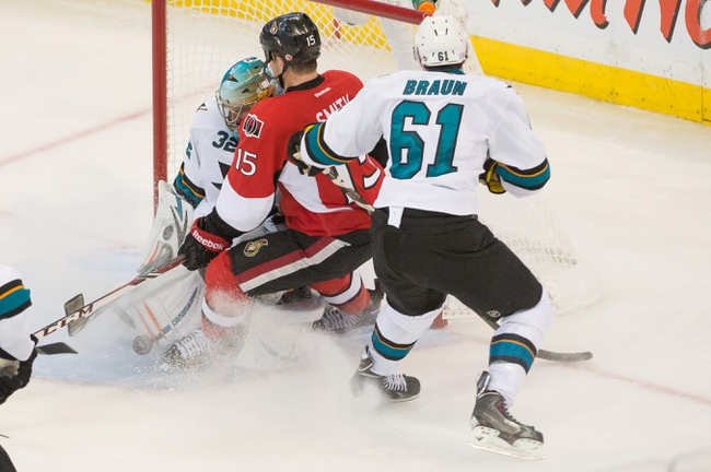 San Jose Sharks vs. Ottawa Senators - 2/28/15 NHL Pick, Odds, and Prediction