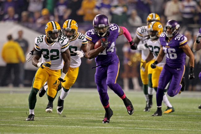 Fantasy Football 2014: Vikings at Packers 10/2/14 Week 5 Preview