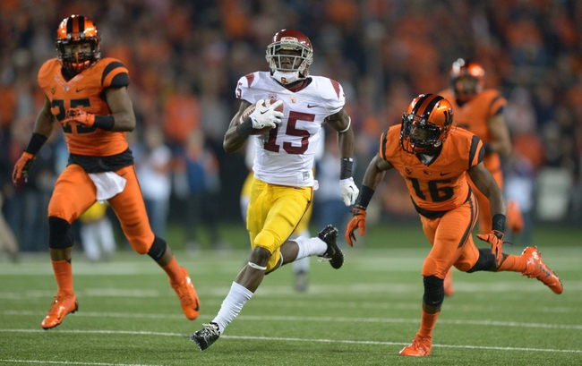 Oregon State Beavers at USC Trojans CFB Pick, Odds, Prediction - 9/27/14