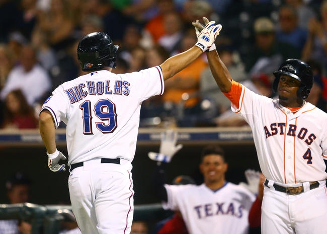 Texas Rangers vs. Houston Astros - 4/11/14