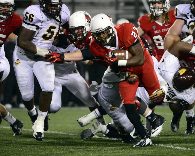 Central Michigan Chippewas vs. Ball State Cardinals Pick-Odds-Prediction - 10/18/14